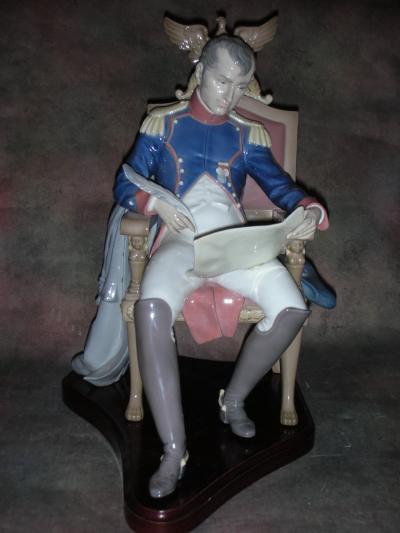 Наполеон Бонапарт, планирующий битву