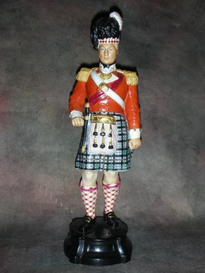 Офицер полка шотландских горцев 1812