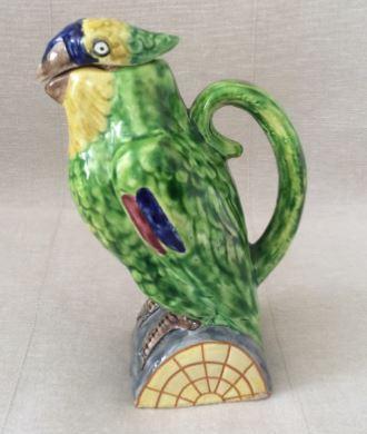Керамическая бутылка Попугай