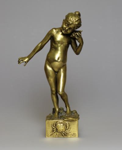Скульптура Девочка с ракушкой