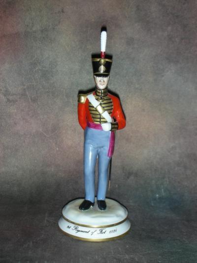 Офицер 1-го пехотного полка 1826