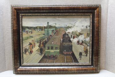 Картина Станция Клязьма