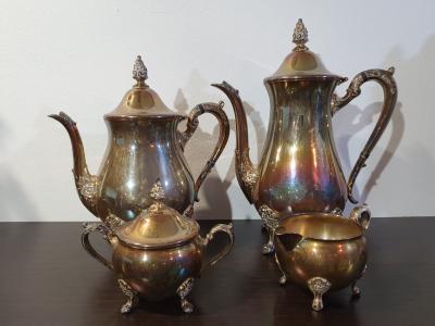 Чайно-кофейный набор 19 века