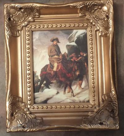 Панно Переход Наполеона через Альпы