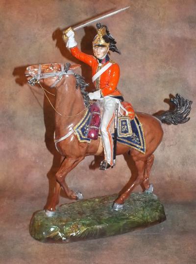 Британский драгун 1815