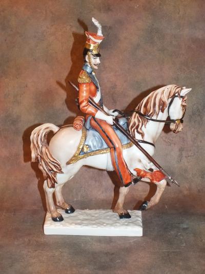 Улан на коне