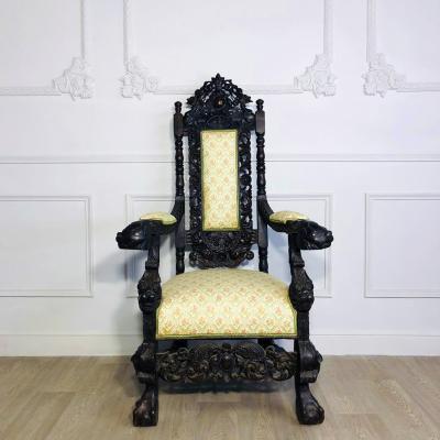 Кресло-трон XIX-XX века, Бельгия.
