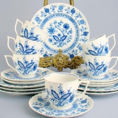 Чайные трио Zwiebelmuster