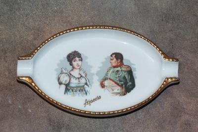 Наполеон и Жозефина. Пепельница (2)