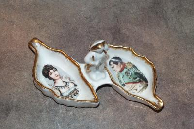Наполеон и Жозефина. Пепельница (3)