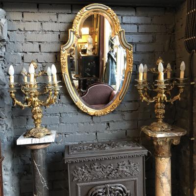 Парные лампы XIX века