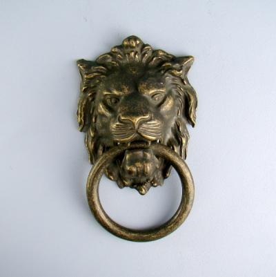 Дверной молоток Лев