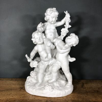 Скульптура Дети с виноградной лозой, рубеж XIX-XX веков