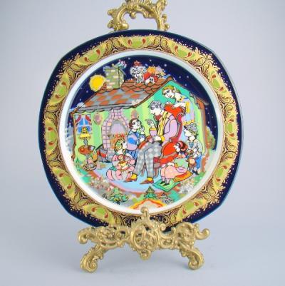 Декоративная тарелка Тысяча и одна ночь, Rosenthal