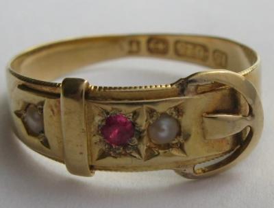 Золотое кольцо ремешок