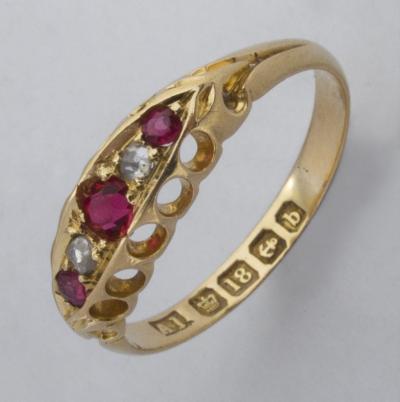 Кольцо 1901 года