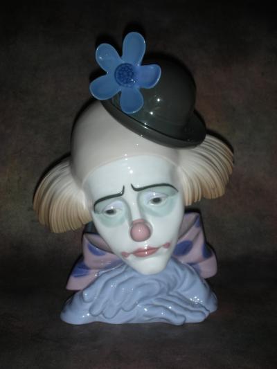 Голова клоуна