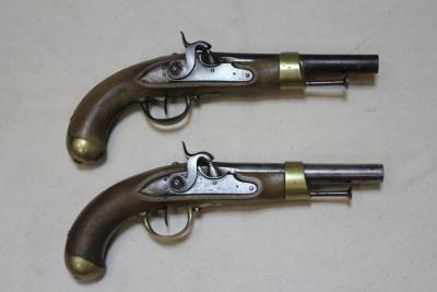 Парные седельные пистолеты