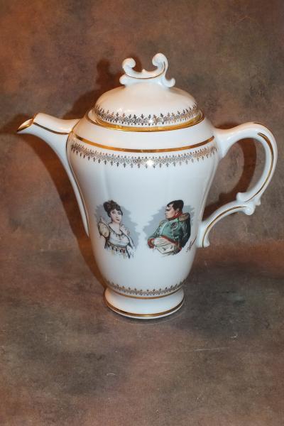 Чайник Наполеон и Жозефина