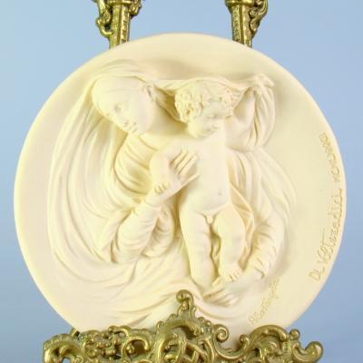 Декоративная тарелка - панно Мадонна Modesta Италия
