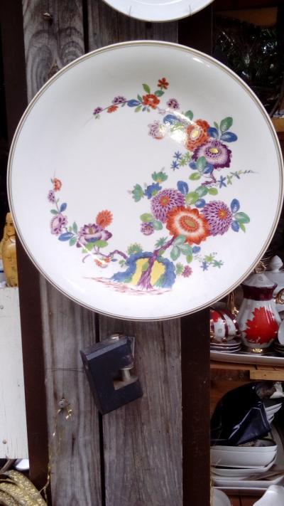 Фарфоровая настенная тарелка, Мейсен