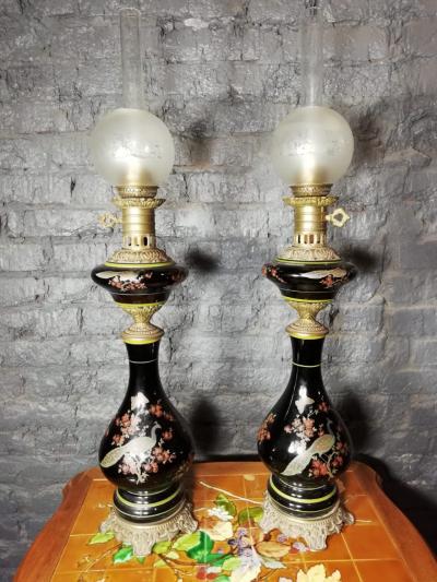 Парные лампы XIX в