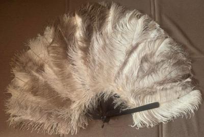 Веер из страусовых перьев