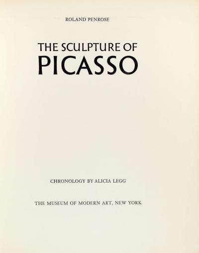 Книга с автографом Пабло Пикассо