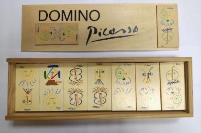 Домино с авторским дизайном Пабло Пикассо