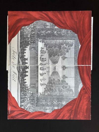 Оригинальное приглашение на свадьбу Грейс Келли и князя Монако Ренье III