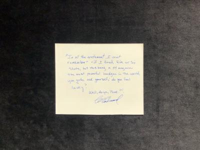 Текст-цитата Клинта Иствуда