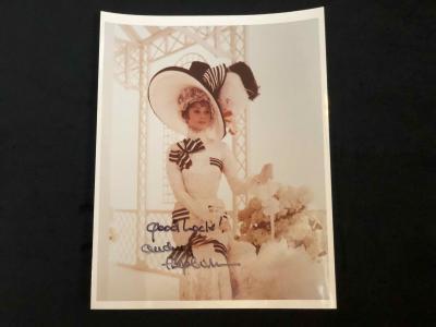 Фото с автографом Одри Хэпберн
