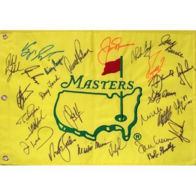 Флаг с автографами 26-ти чемпионов