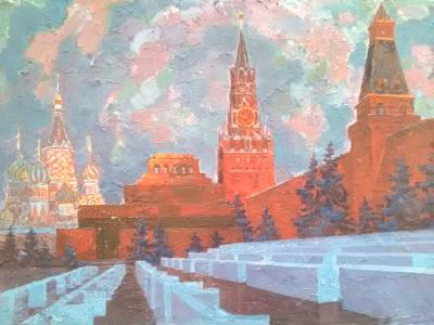 Красная площадь. Мавзолей