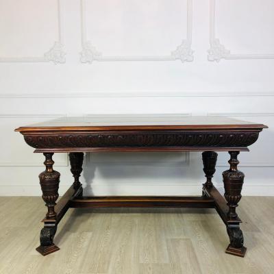 Большой обеденный стол рубежа XIX-XX века, Франция.