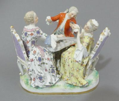 Скульптурная группа Картежники, 1860 г