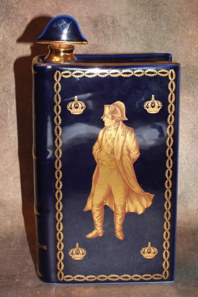 Штоф фляга Наполеон Бонапарт. Синий
