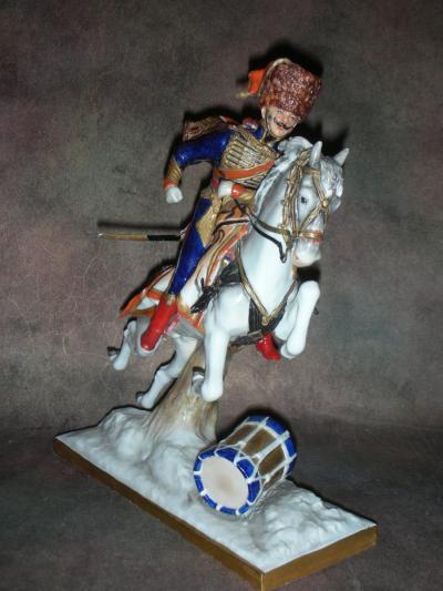 Офицер 4-го гусарского полка 1807