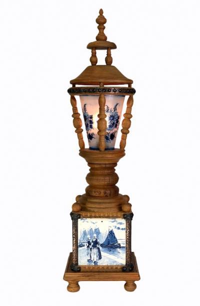 Лампа, Delft