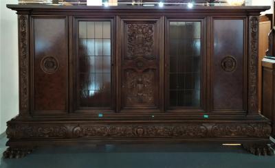 Кабинетный шкаф в стиле необарокко