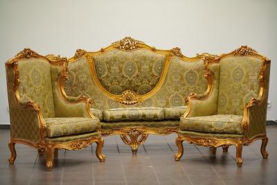 Комплект мягкой мебели в стиле необарокко