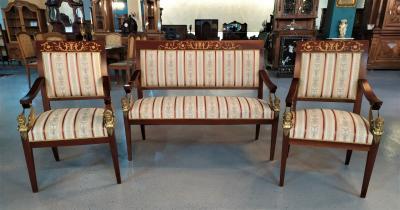 Комплект мебели XIX века в стиле ампир
