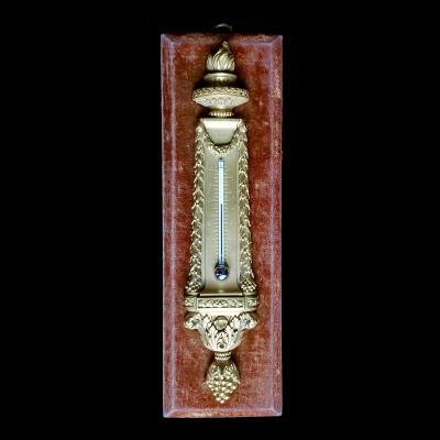 Ртутный настенный термометр в стиле Луи XVI