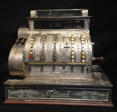 Кассовый аппарат National (1904-1905 гг.)