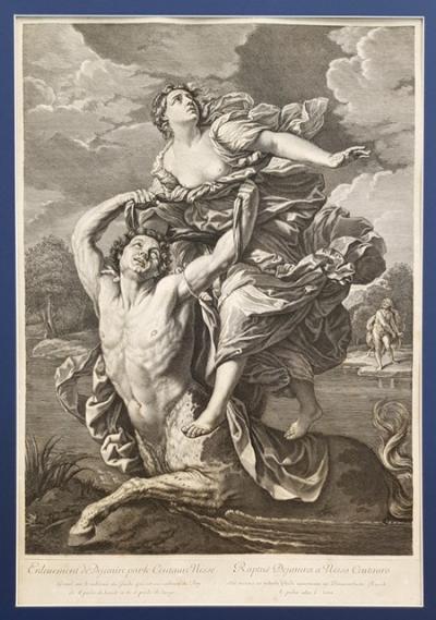 Похищение Деяниры кентавром Нессом