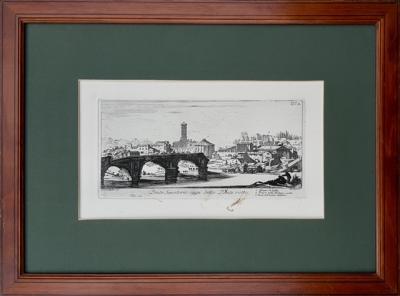 Сенатский мост, называемый сегодня Сломанный мост