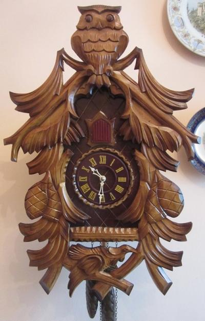 Часы с кукушкой Антарес