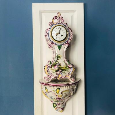 Часы с консолью начала XX века, Франция