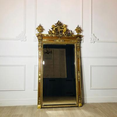 Большое зеркало рубежа XIX-XX веков, Франция