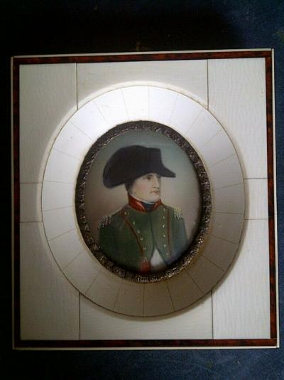 Миниатюра портрет Наполеона I